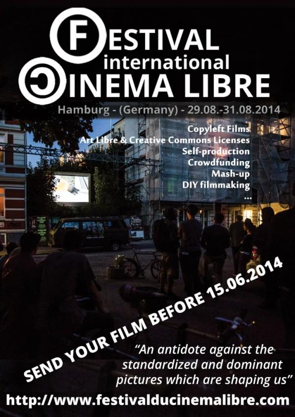 2ème édition du festival international du cinéma libre : envoyez vos films !